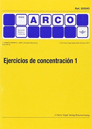Ejercicios De Concentracion 1 por Aa.Vv.