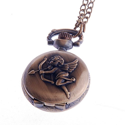 ladies-quartz-pendant-pocket-watch-small-face-with-chain-white-dial-vintage-reproduction-cupid-angel