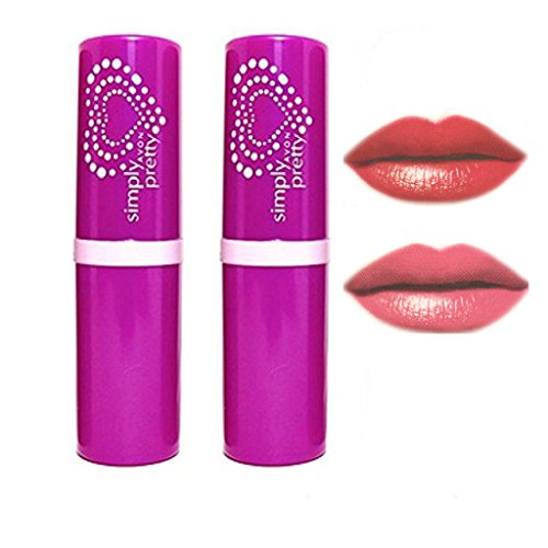 Avon Simply Pretty Color Bliss Lipstick (cherry red - romace )