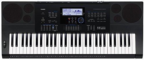 Casio CTK-6200 piano digital - Teclado electrónico (94,8 cm, 38,4 cm, 12,2 cm, LCD)
