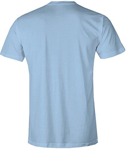 Bin da kann los gehen - Herren T-Shirt Hellblau