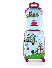 Amazon.co.uk: Pink - Children's Luggage / Suitcases & Travel Bags ...