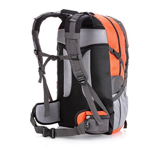 SZH&BEIB Im Freien wasserdichte Tasche Klettern Wanderrucksack Multifunktions-Camping Sport 50L C