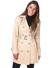 KRISP Mujer Gabardina Abrigo Chaqueta Clásico