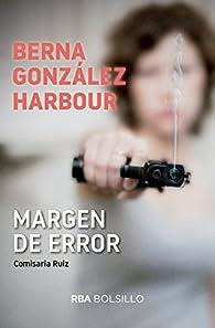 Margen de error par Berna González Harbour