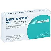 Ben-u-ron 75 mg Zäpfchen, 10 St. preisvergleich bei billige-tabletten.eu