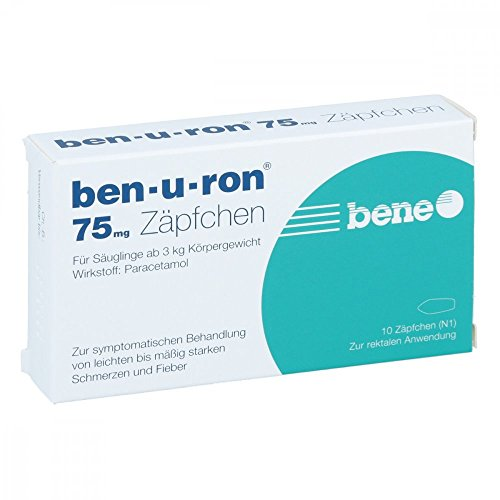 Ben-u-ron 75mg 10 stk