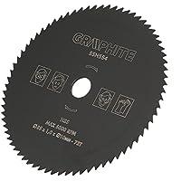 Disco de Corte de Hoja de Sierra Circular de Acero de Alta Velocidad, 85 mm x 10 mm, 72 Dientes Herramientas Rotativas para Corte de Plástico/Madera / Metal