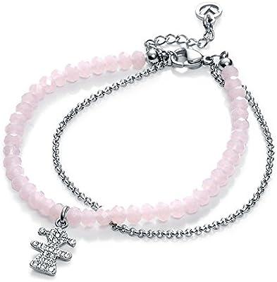 Pulsera Viceroy Jewels 90030P01010 Niña y Cristales Rosas