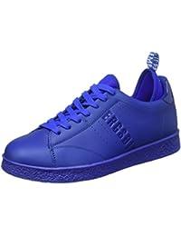 Bikkembergs Best 596 L.Shoe M Leather (with Socks), Sandalias con Plataforma para Hombre, Bianco