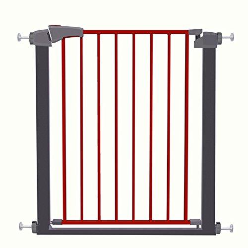 Barrière de sécurité Porte de bébé Porte Protecteur Porte Extra Large Pet Pour Porte Porte Escalier Play Yard Facile Étape Walk Thru Gate 63-172 cm de large (taille : 127-134cm)