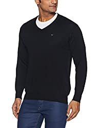 Monte Carlo Mens Wool Sweater (8907678024494_1170507VN-118-44_Black)