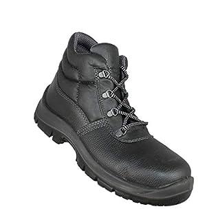 Almar Baustiefel S3 SRC Work Shoes Professional Shoes high Black, Size:36 EU