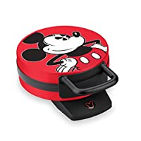Disney DCM12 Mickey Mouse Waffle Maker, Red by Disney