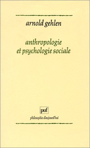 Anthropologie et psychologie sociale