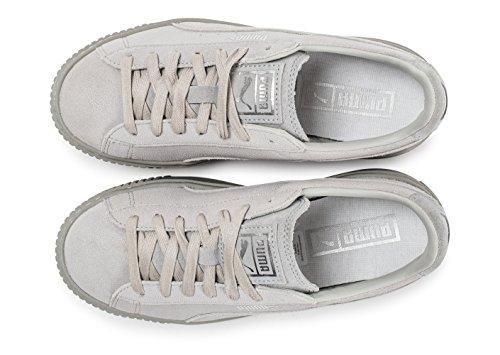 Puma Suede Platform Gold 36222201, Turnschuhe Grey