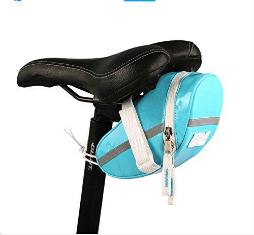 FAN4ZAME Fahrrad Tail Wrap Mountain Road Klappfahrrad Sattel Autositz Tasche Reitschule Ausrüstung Armaturen C