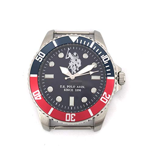 U.S. Polo Assn. Reloj Analog-Digital para Mens de Automatic con Correa en Cloth S0320123