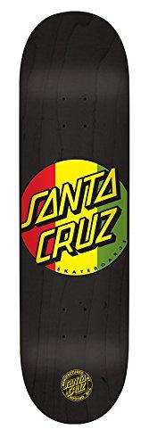 Santa Cruz Rasta Dot Tablett für Skateboard Unisex Erwachsene, Mehrfarbig Rasta Dot