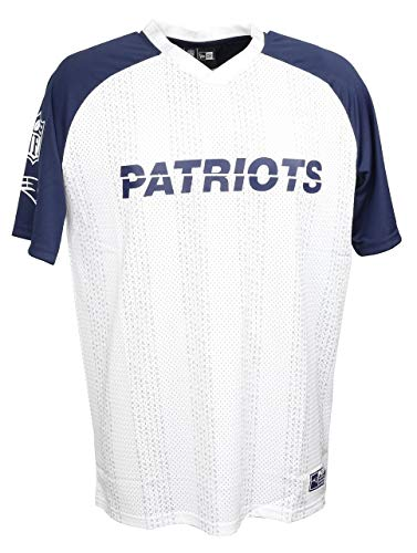 New era nfl New Era New England Patriots T Shirt American Football Sommer Weiss - XXL