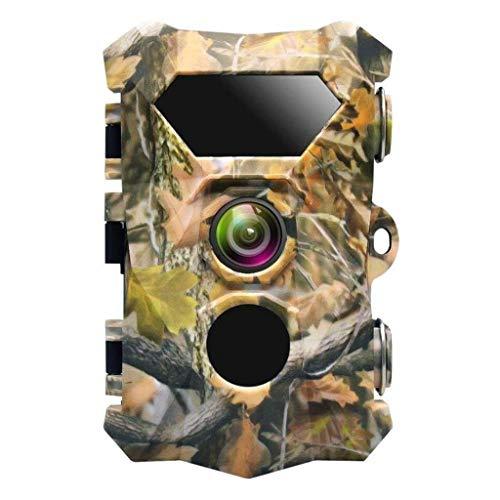 ZYFPOWER Wildlife Trail Kamera HD 1080P 12MP Spielkamera Fernüberwachung Nachtsicht Ultra Lange Standby-Bewegungserkennung Iphone 2g Lcd