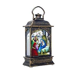 ZODOF Iluminación navideña con vela