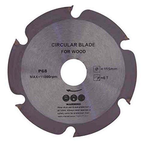 Disco lama x smerigliatrice angolare x taglio tagliare legno e PVC mm 115