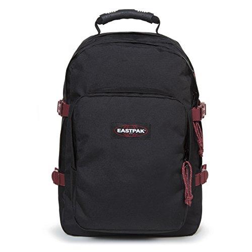Eastpak Provider Sac à dos, 44 cm, 33 L, Noir (Black-Red)