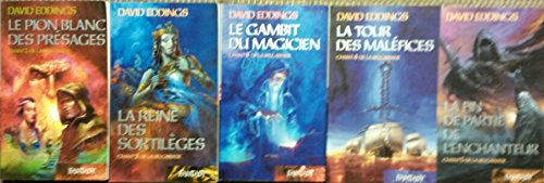 Chant de la Belgariade en 5 tomes (Le pion blanc des présages/ La reine des sortilèges/ Le gambit du magicien/ La tour des maléfices/ La fin de partie de l'enchanteur)