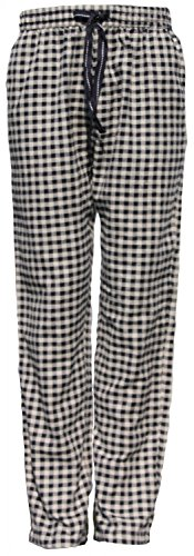 MG-1 warme Herren FLANELL Pyjamahose Schlafanzug Hose, Homewear kariert Farbwahl DESIGN 03