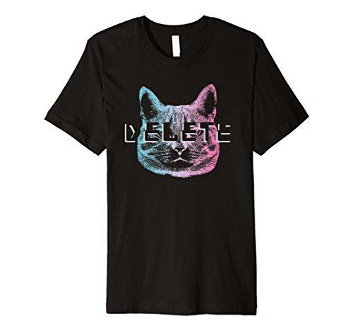 Löschen Katze vaporwave Ästhetische Shirt Pastell Goth Sad Otaku