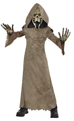 Amscan Sumpf Zombie Jungen Kostüm Halloween Skelett Ghoul Kinder Kinder Kostüm (Ghoul Kostüm Jungen)