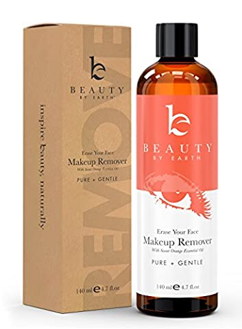 Makeup Remover; with Organic and Natural Ingredients; Gentle, Oil Free