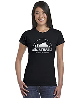 Winterfell Game Of Thrones Inspired Ladies T Shirt GoT Disney Tee