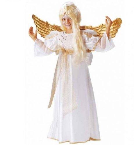 Fasching Karneval Kostüm Engel, Kleid Engelchen: Größe: 164