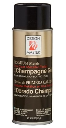 Oasis Design Master Metallic Aerosol Spray Paint (Champagne Gold)