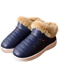 Invierno Nieve de Las Mujeres de Moda Las Botas de Felpa de la Plantilla de Suela