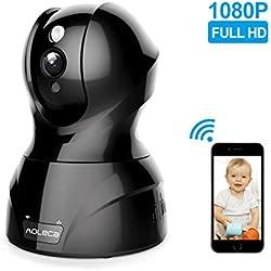 WLAN Kamera Aoleca 1080P HD WiFi IP Kamera mit Alarm Informationen, Zweiwege-Audio, PIR Nachtsichtmodus, Wireless Überwachungskamera wlan Indoor Kabellose Hausüberwachung