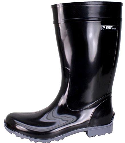 BOCKSTIEGEL® LUISA - Stivali di Gomma alla Moda | Donna | Taglie: 36-42 Black / grey