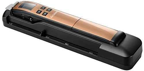 Avision Miwand2L PRO mobiler Scanner (600dpi, 4,5 cm (1,8 Zoll) LCD, USB 2.0) gold