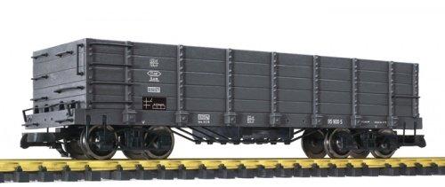 Preisvergleich Produktbild Liliput-Bachmann L95900 - Hochbordwagen, grau, Metallradsätze, S