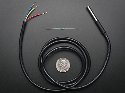 Waterproof DS18B20 Digital temperature sensor + extras -