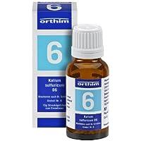 Schuessler Globuli Nr. 6 - Kalium sulfuricum D6 - 15g Globuli - gluten- und laktosefrei preisvergleich bei billige-tabletten.eu
