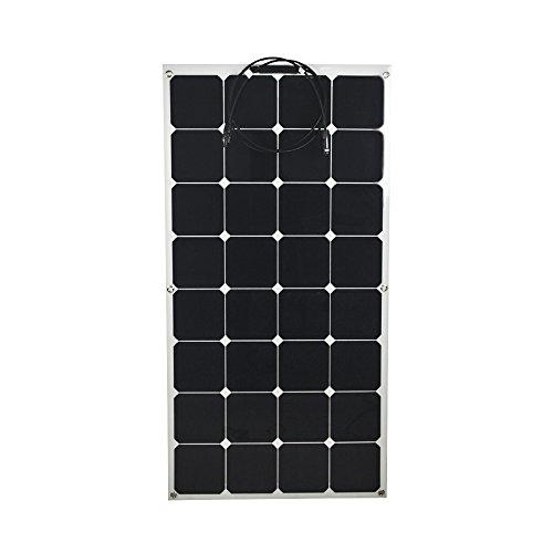 VIKOCELL 2pcs 100W 18V halb-flexibles Sonnenkollektor monokristallin für Haus Haus RV Pool Camping und Auto auf Verkauf