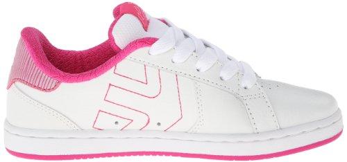 Etnies Etnies Kids Fader Ls B, Baskets mode garçon blanc/rose