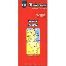 Carte routière : Tunisie, 956, 1/800000