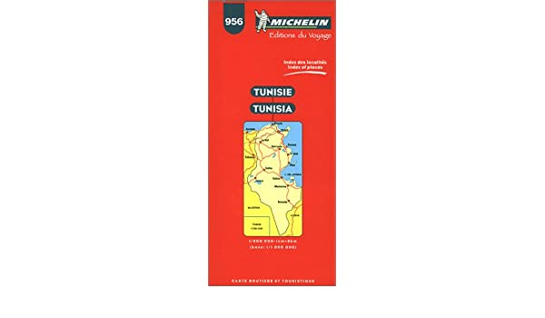 carte routiere tunisie 956 1 800000
