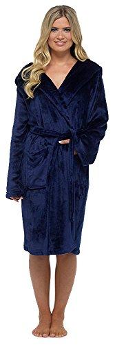 Foxbury - Vestaglia - Con cappuccio  - Maniche lunghe  -  donna blu navy