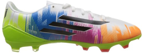 Adidas F10TRX FG Messi, Fußballschuhe Herren - blanc-bleu-vert-rose-orange
