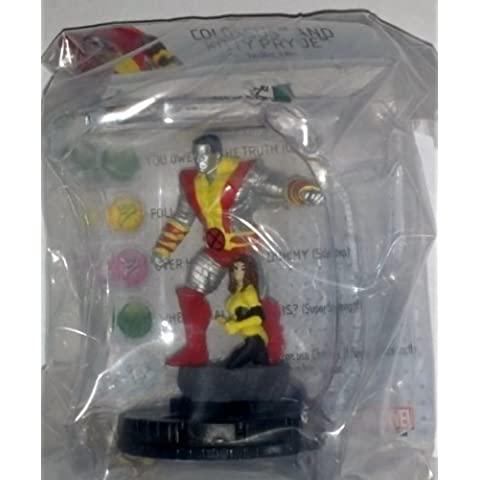 Marvel Heroclix Wolverine and the X-Men #101 Colosuss and Kitty Pryde Limited Edition Figure with Card by NECA
